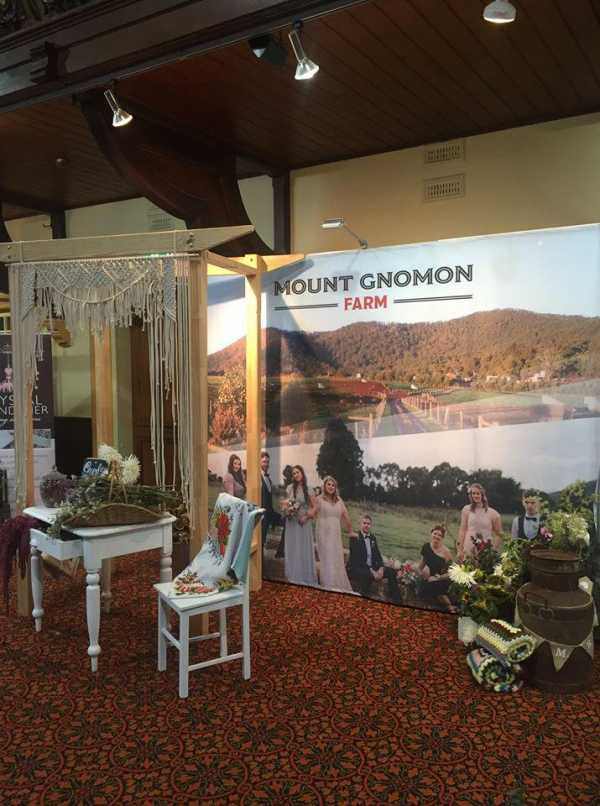 Events Printed Backdrop Fabric Hobart