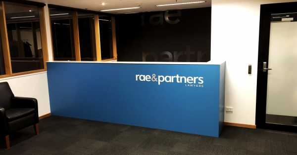 Rae Partners Wall Graphic