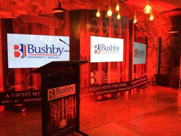 Bushby Trade Show Event Signage Copy