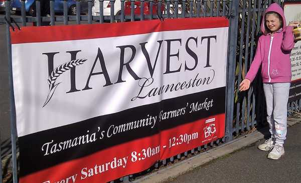 Harvest Launceston Event Banner