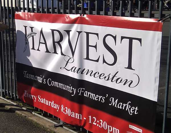 Harvest Launceston Fence Banner Outdoor