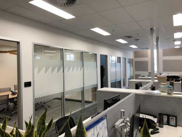 CH Smith Centre, Launceston - Frosted Privacy Graphics