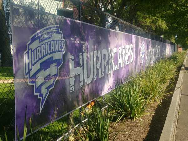 Hurricanes fence banners