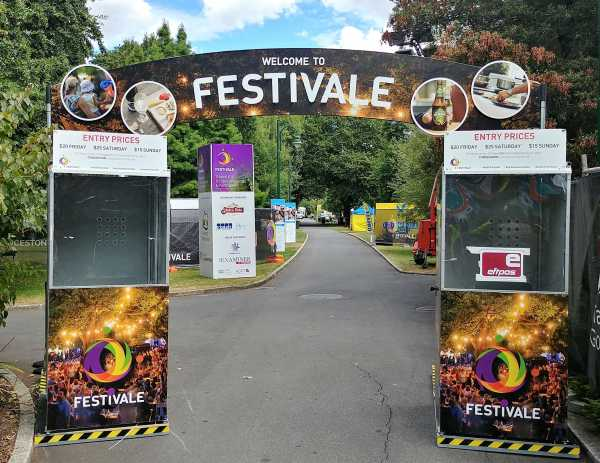Festivale Event Entry Signage
