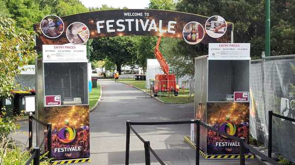 Festivale Event Signage Entry