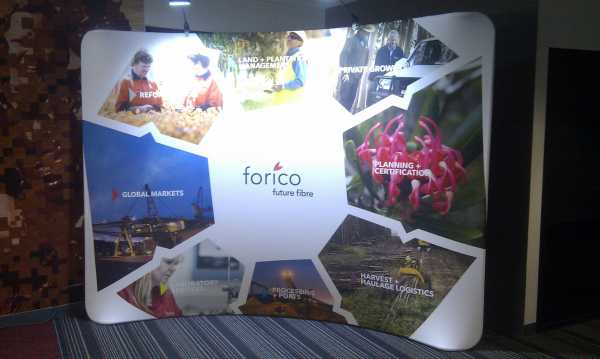 Forico Trade Show Pop Up Wall