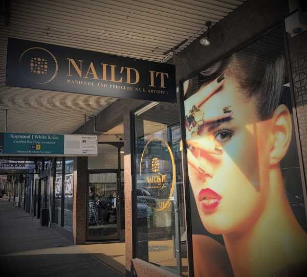 Naild It Launceston - Shop Signage