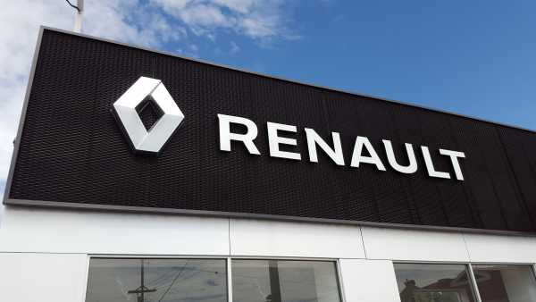 Neil Buckby Renault Building Signage