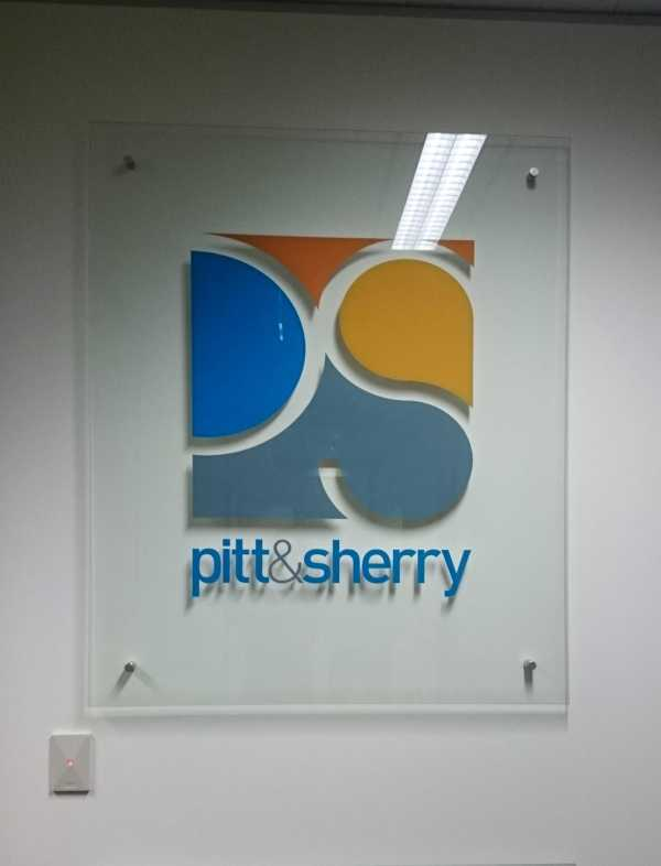Pitt Sherry Office Sign Acrylic Sign