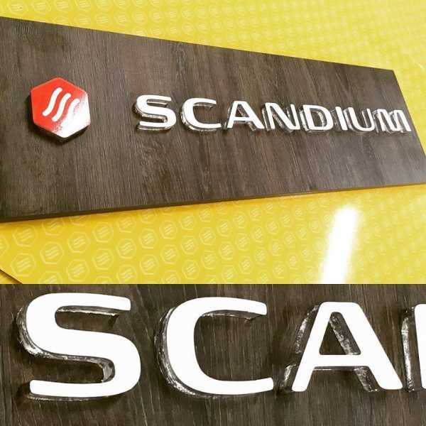 Scadium Retail Signage Point Of Sale Acrylic Signage Laser Cut Signs