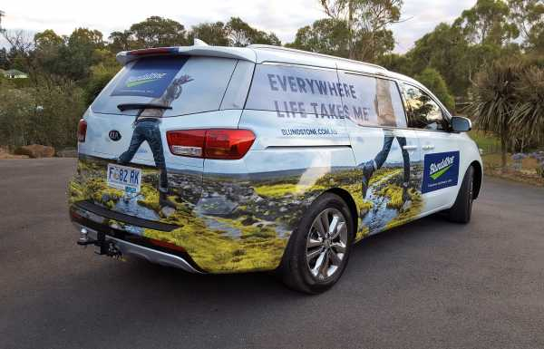 Vehicle Graphics | Think Big