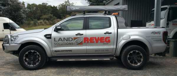 Land Solutions Vehicle Signs