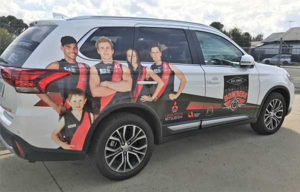 Northern Bombers Car Wrap