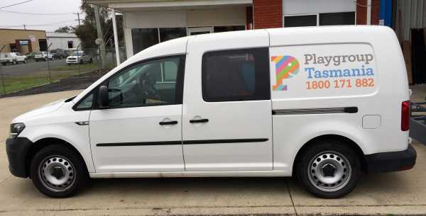 Playgroup Vehicle Signage Van Sign