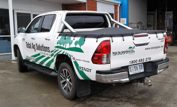 Total Ag Solutions Ute Wrap 3 M Wrap