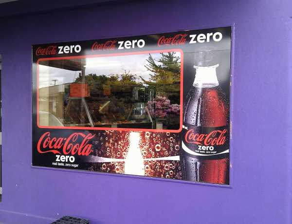 Coca Cola Window Signs Copy