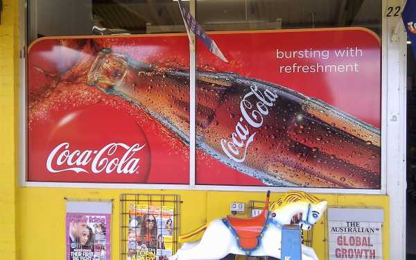 Coke Window Signage Copy