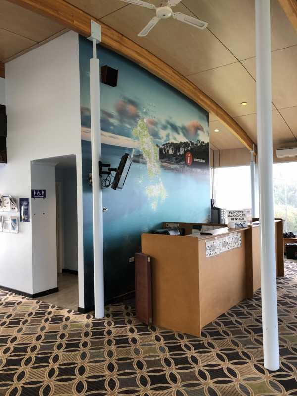 Flinders Island Airport - Wall Vinyl Graphics