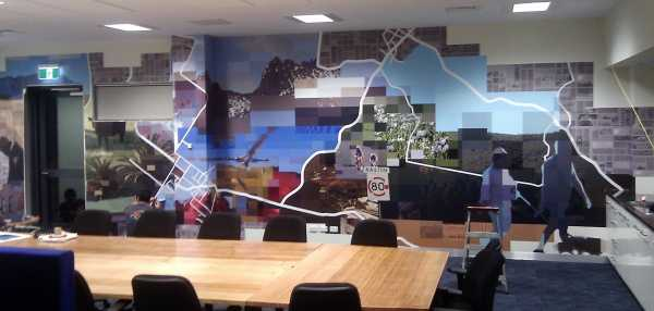 Futago Devonport Police Station Wall Graphics