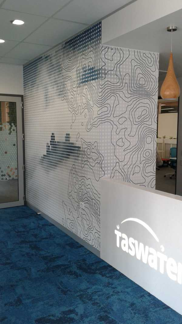 Futago Taswater Wall Graphics Interior Design