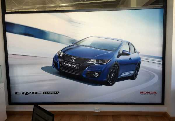 Honda Window Graphics