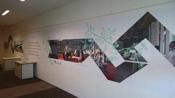 Launceston Airport Printed Wall Graphics