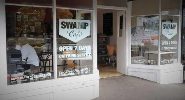 Swamp Cafe Window Signs Cut Vinyl Signs Copy