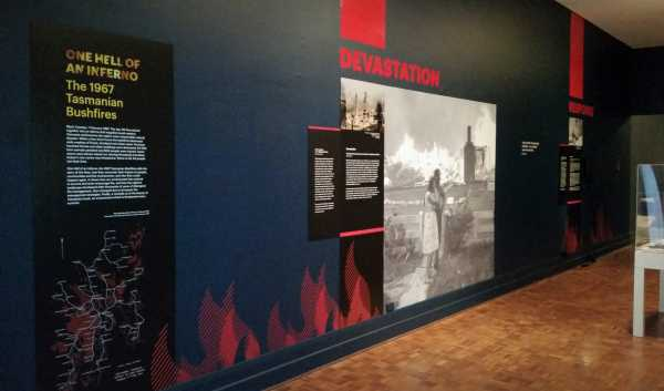 Tmag 1967 Fires Interpretative Wall Graphics