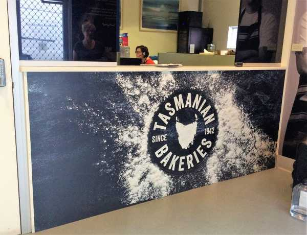 Tasmanian Bakery Counter Graphics